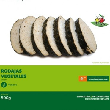 "Rodajas de ""Pescado"" Vegetal - Vegesan"