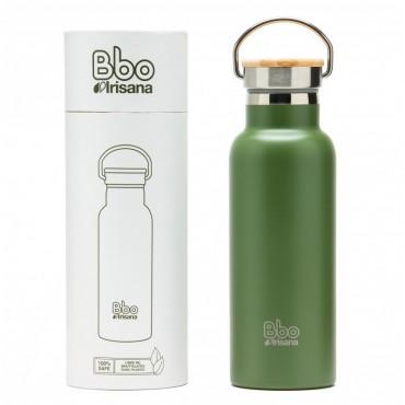 Botella Reutilizable Bbo Verde - Irisana