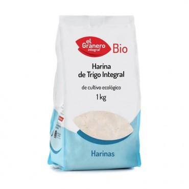Harina de Trigo Integral 500 g. - El Granero Integral - tienda vegana online