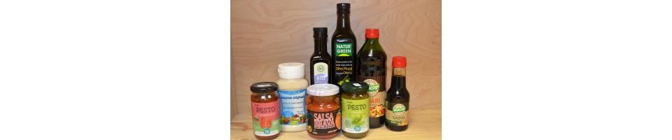 Aceites, aderezos y salsas