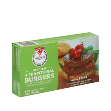 Hamburguesas Tradicionales - Fry´s - tienda vegana online