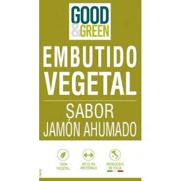 Embutido tipo Jamón Ahumado - Good & Green - tienda vegana online