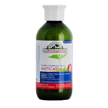 Champú Anticaída 300 ml. - Corpore Sano - tienda vegana online