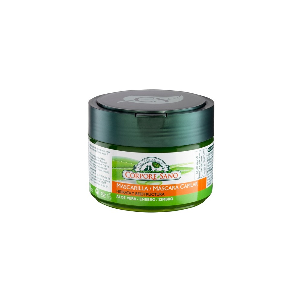 Mascarilla Capilar 250 ml. - Corpore Sano - tienda vegana online