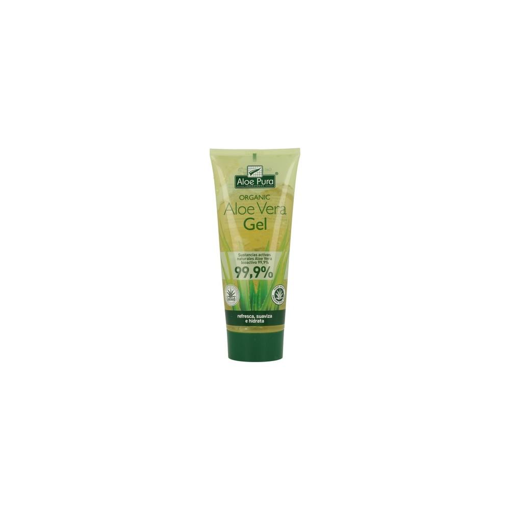 Aloe Vera Gel 99,9% 200 ml. - Aloe Pura - tienda vegana online