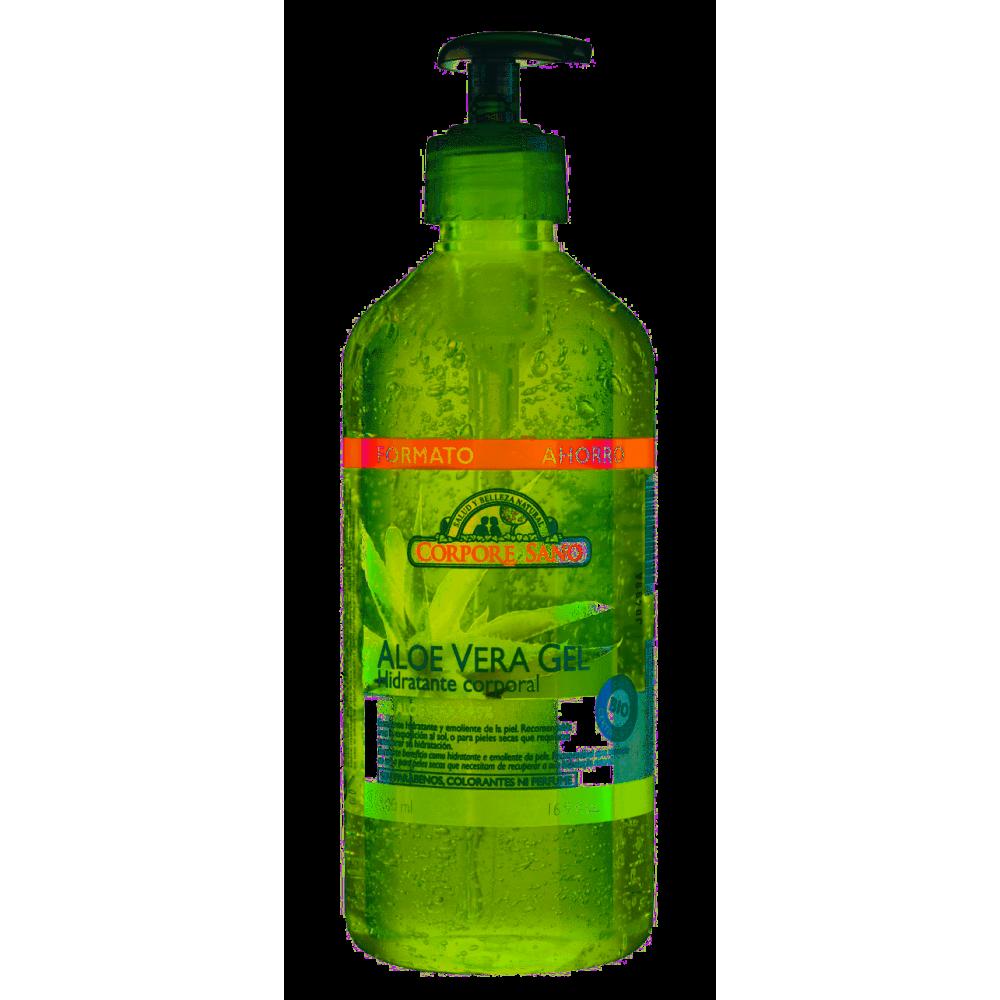 Aloe Vera Gel 500 ml. - Corpore Sano - tienda vegana online