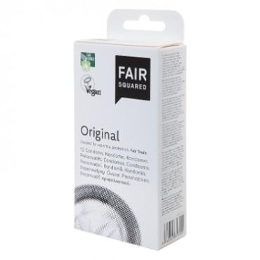 Preservativos veganos 10 unidades - Fair Squared - tienda vegana online