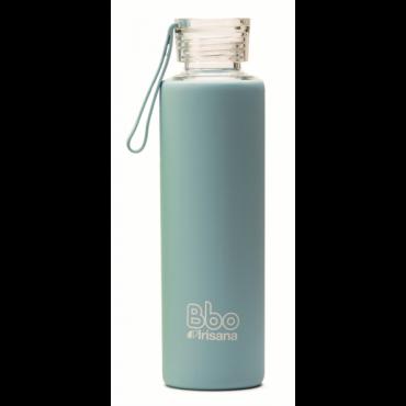 Botella cristal Bbo Azul - Irisana - tienda vegana online