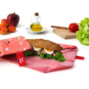 Porta Bocadillos Kids Space - by Roll'eat  tienda vegana online