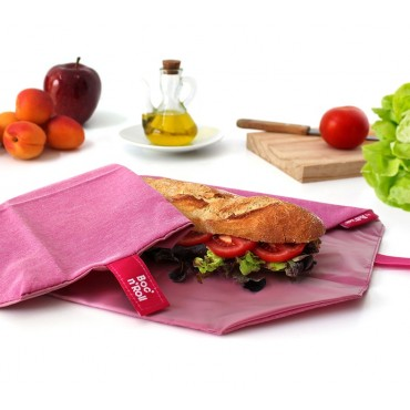 Porta Bocadillos Eco Violeta - by Roll'eat- tienda vegana online