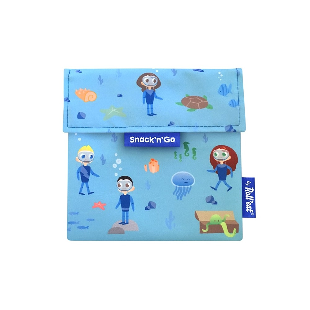 Porta Snacks Kids Ocean - by Roll'eat