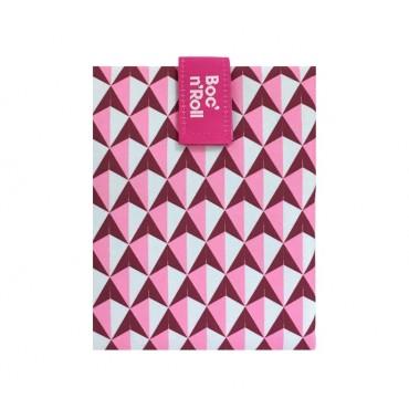 Porta Bocadillos Eco rosa - by Roll'Eat  - tienda vegana online