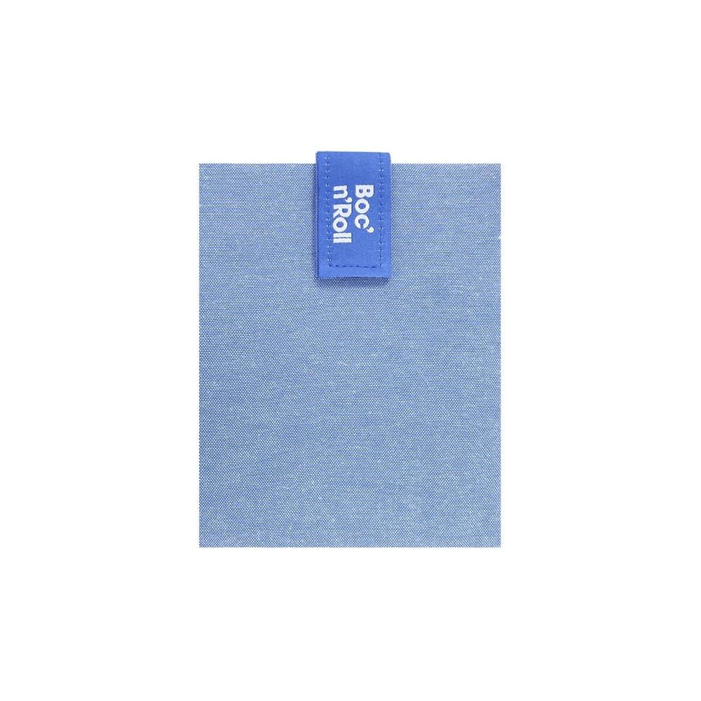 Porta bocadillos square azul - by Roll'eat - tienda vegana online