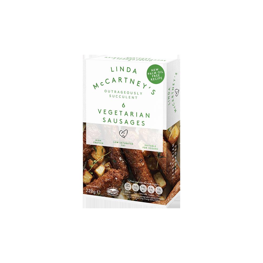 Salchichas Tradicionales - Linda McCartney - tienda vegana online