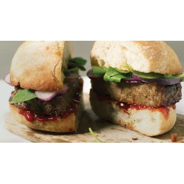 Hamburguesas 1/4 libra - Linda McCartney - tienda vegana online