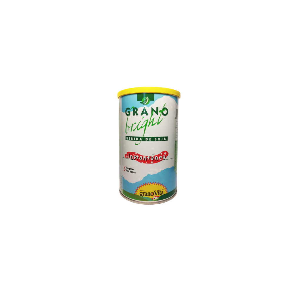Bebida Grano Bright de soja instantánea 400 g. - GranoVita -  tienda vegana online