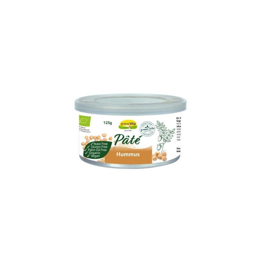 Paté de Hummus 125 g. Granovita - tienda vegana online
