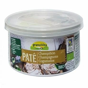 Paté Champiñón 125 g. Granovita