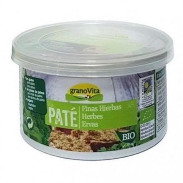 Paté Finas Hierbas 125 g. Granovita - tienda vegana online
