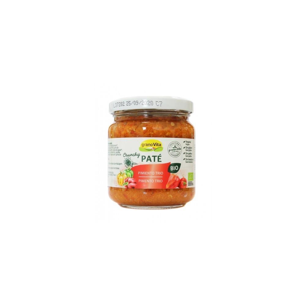 Paté Tres Pimientos - Granovita - tienda vegana online