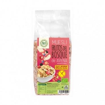 Muesli Avena con Frutos del bosque 425 g. Sol Natural - tienda vegana online