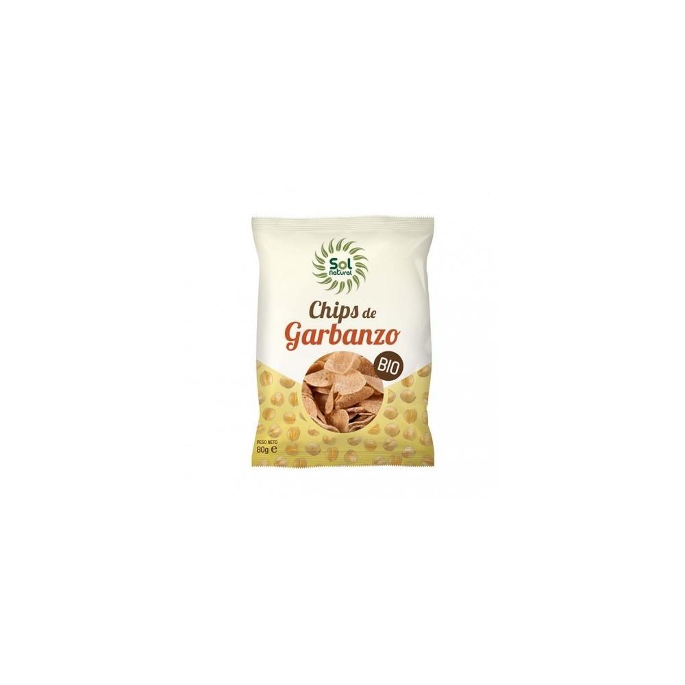 Chips de Garbanzo 80 g. - Sol Natural - tienda vegana online