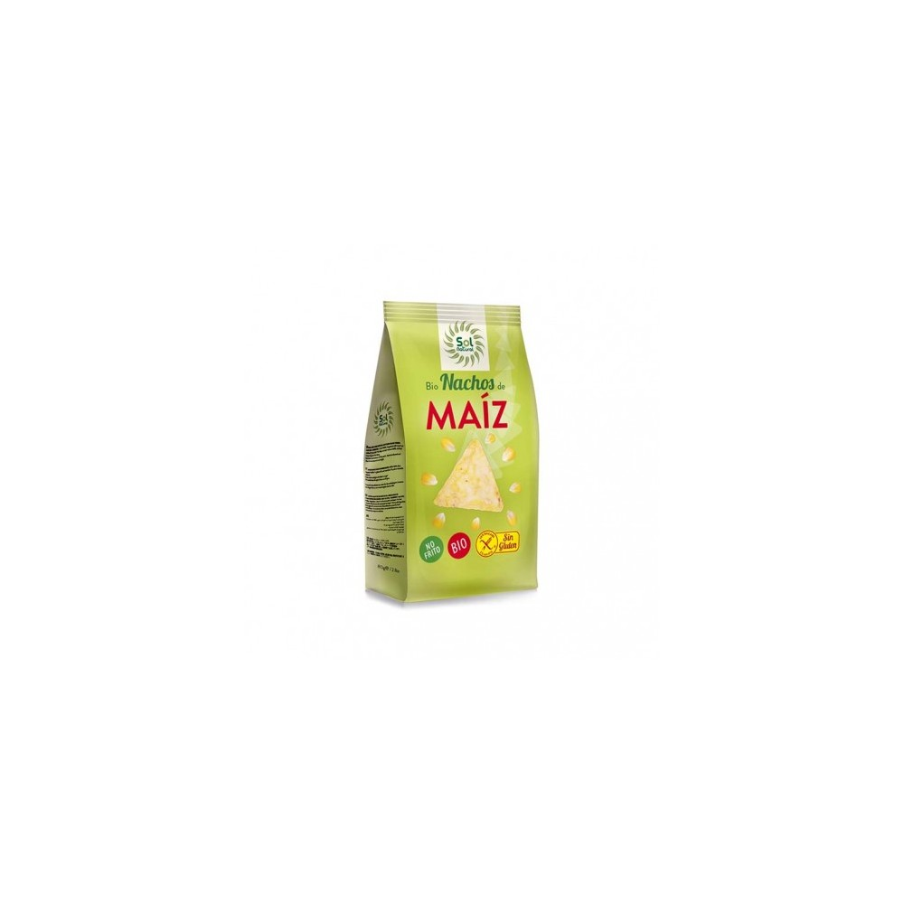 Nachos de Maíz 80 g. - Sol Natural- tienda vegana online