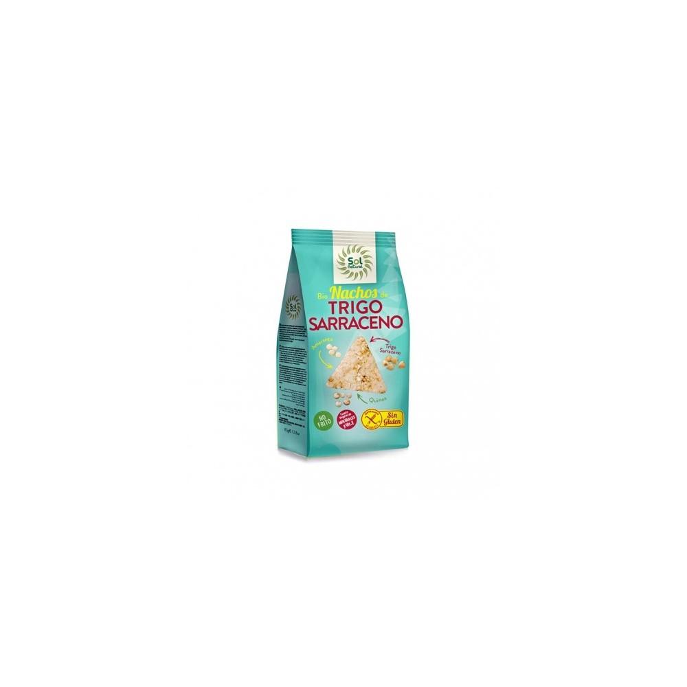 Nachos con Trigo Sarraceno 80 g. - Sol Natural - tienda vegana online