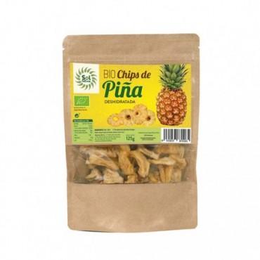 Chips de Piña 125 g. - Sol Natural - tienda vegana online