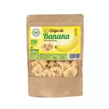 Chips de Banana 150 g. - Sol Natural - tienda vegana online