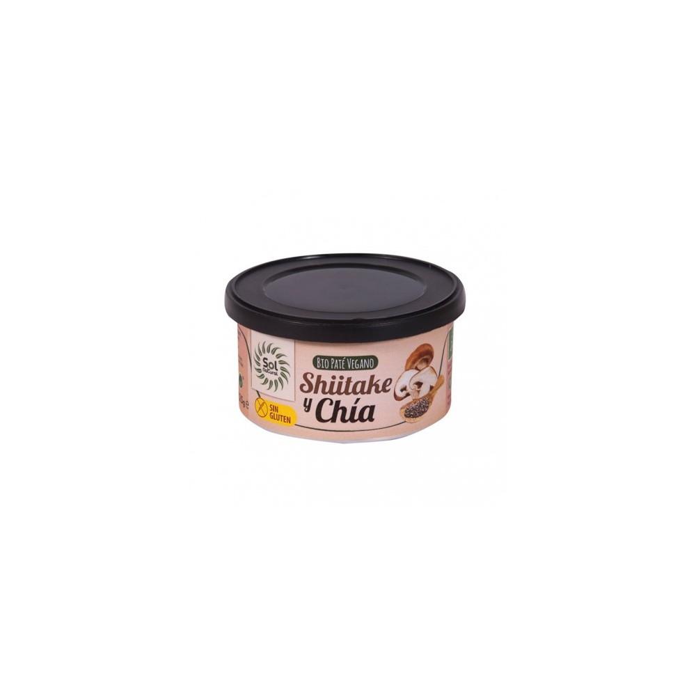 Paté Shiitake y Chía 125 g. Sol Natural - tienda vegana online