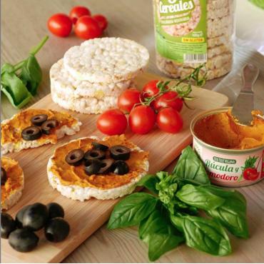 Paté Rúcula y Pomodoro 125 g. Sol Natural - tienda vegana online