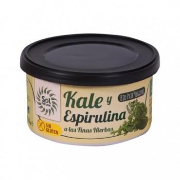 Paté Kale y Espirulina 125 g. Sol Natural - tienda vegana online