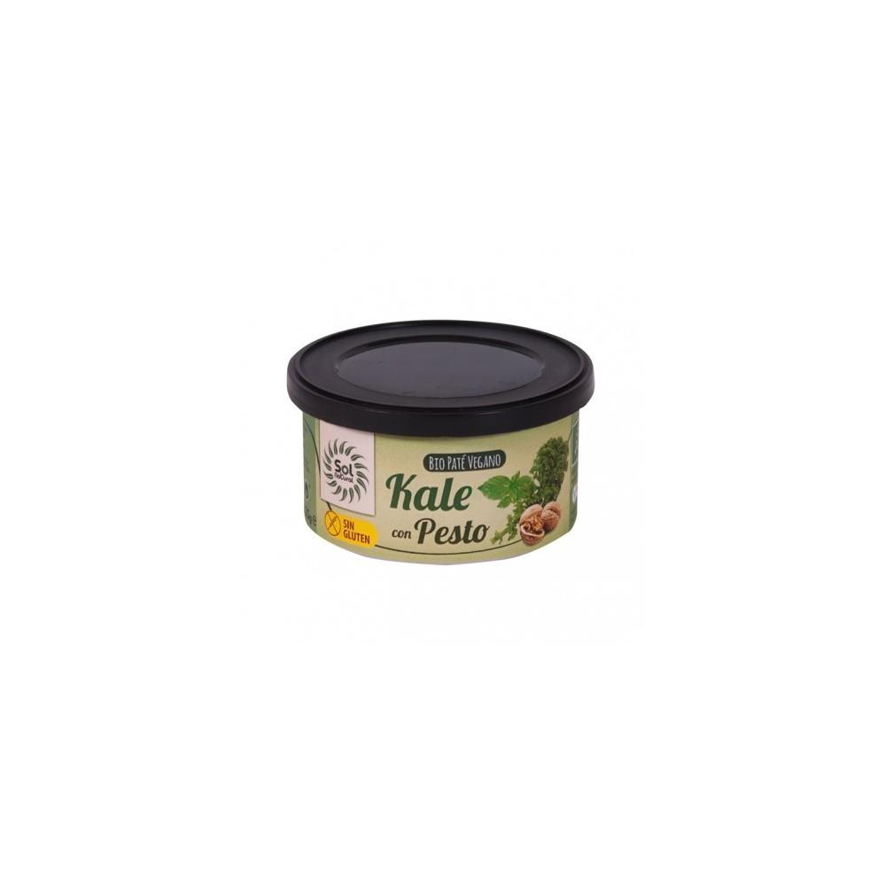 Paté Kale con Pesto 125 g. Sol Natural - tienda vegana online