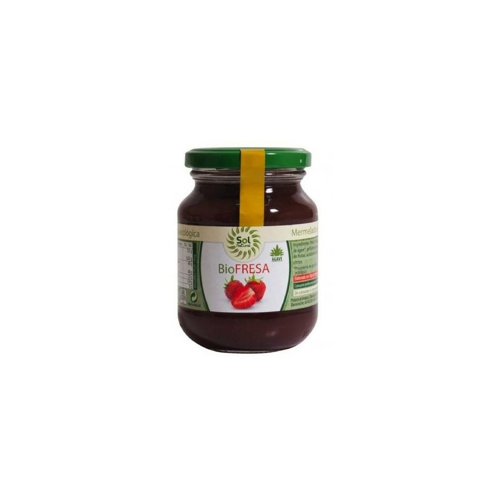 Mermelada de Fresa Bio - Sol Natural 330 g. - tienda vegana online