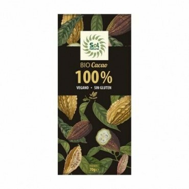 Chocolate 100 % Cacao - Sol Natural