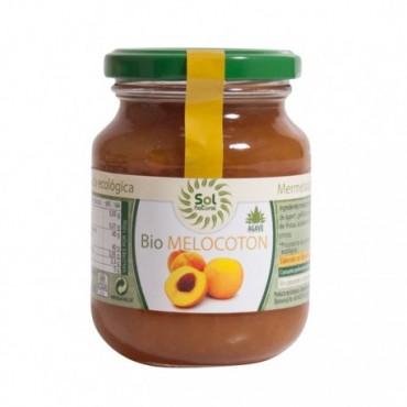 Mermelada de Melocotón Bio - Sol Natural 330 g.