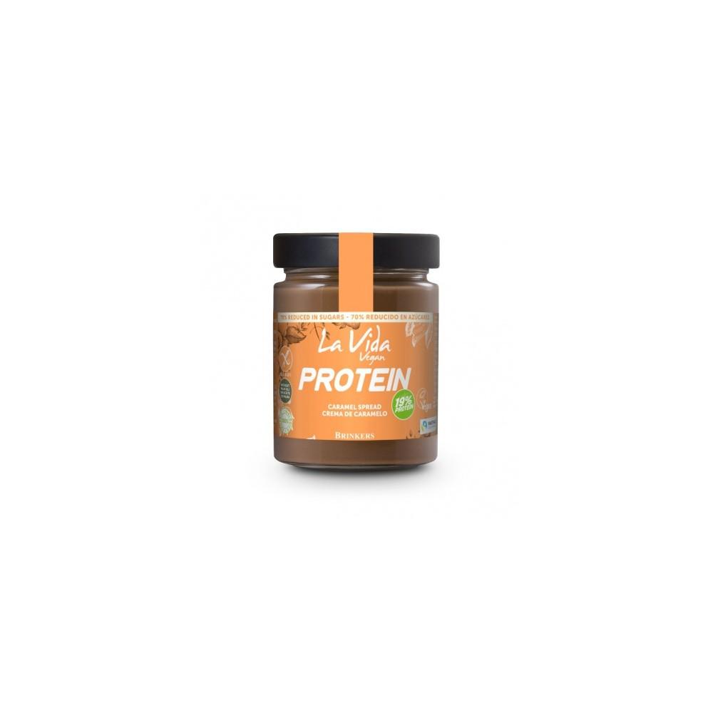 Crema Chocolate y Caramelo Protein - La Vida Vegan - tienda vegana online