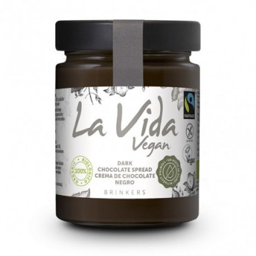 Crema Chocolate Negro - La Vida Vegan - tienda vegana online