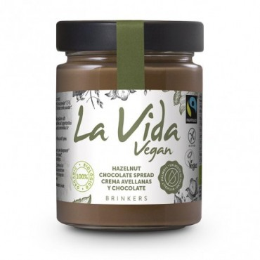 Crema Chocolate Avellanas - La Vida Vegan
