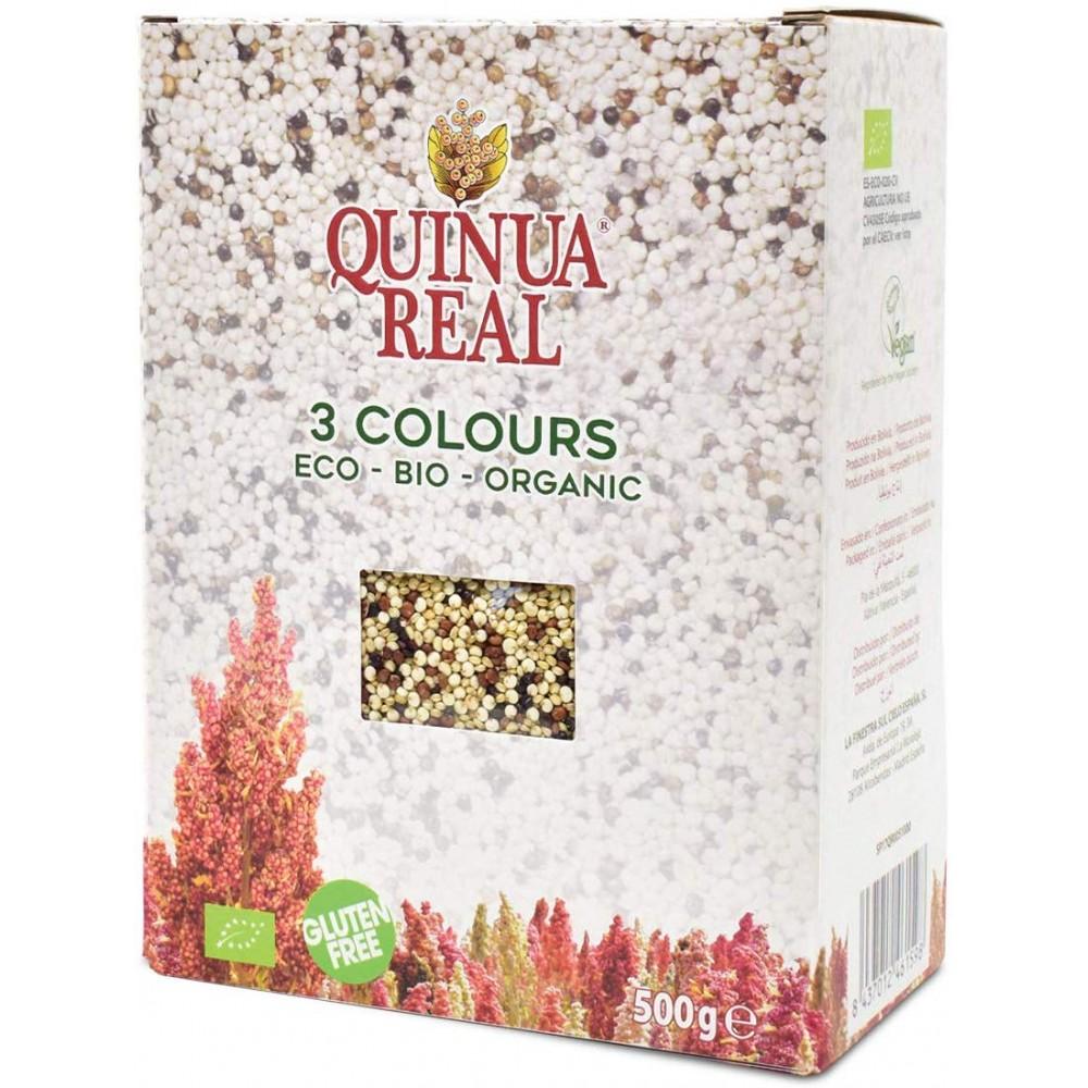 Quinoa Real tres colores 500 g. - Quinua Real - tienda vegana online