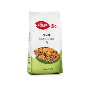 Muesli Bio 1 Kg. - El Granero Integral - tienda vegana online