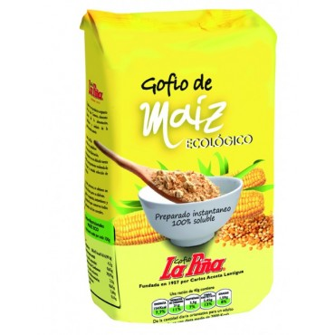 Gofio de Maíz 500 g. - La Piña - tienda vegana online