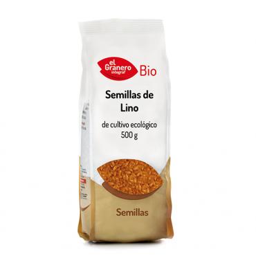 Semillas de Lino Dorado 500 g. - El Granero Integral