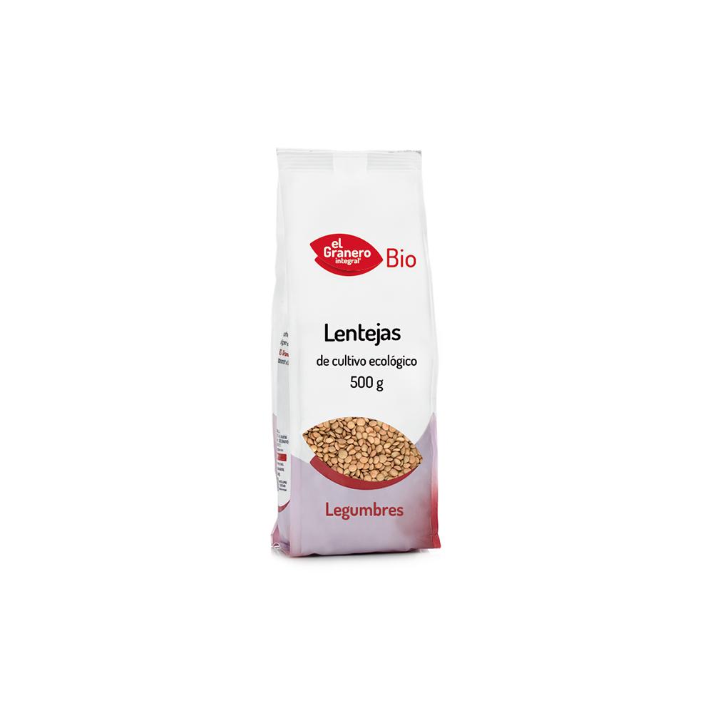 Lentejas 500 g. - El Granero Integral - tienda vegana online