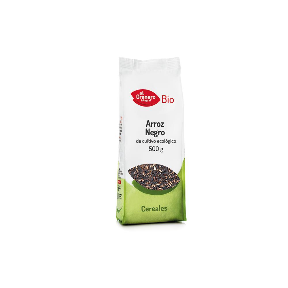 Arroz Negro 500 g. - El Granero Integral - tienda vegana online
