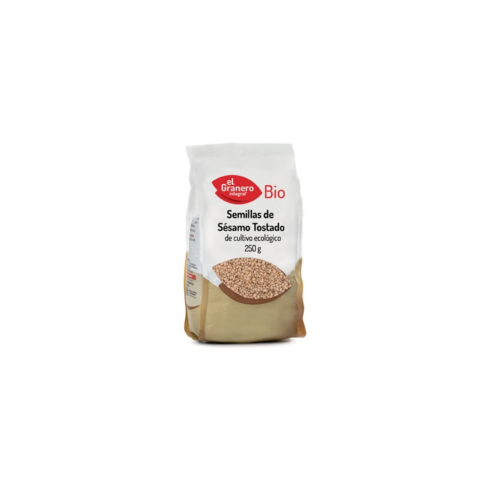 Semillas de Sesamo Crudo 250 g. - El Granero Integral - tienda vegana online
