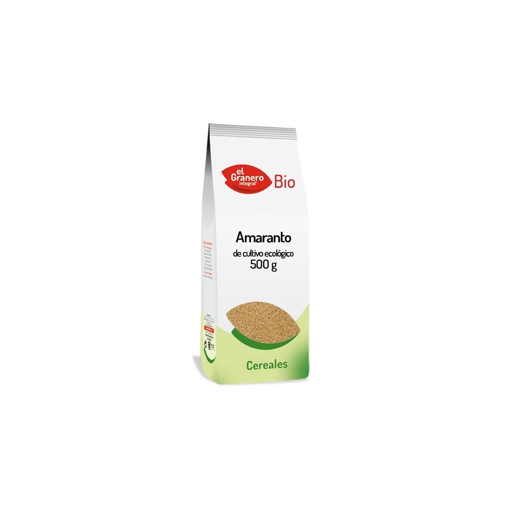 Copos de amaranto 250 g.- El Granero Integral - tienda vegana online