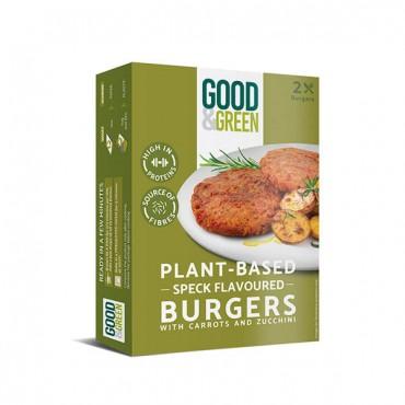 "Hamburguesas veganas con ""jamón"" de Good & Green - Tienda Vegana Online"