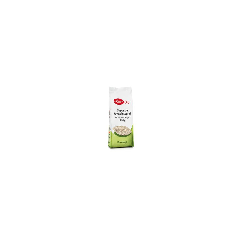 Copos de Arroz Integral 250 g.- El Granero Integral - tienda vegana online